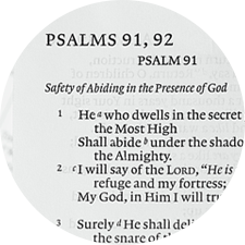 Psalm 91 Workshop by Peggy Park